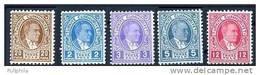 1936 TURKEY ATATURK POSTAGE DUE STAMPS MNH ** - 1921-... République