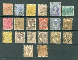 QUEENSLAND LOT Of 20 USED( MINT NO THINS Cat $160 WYSIWYG A04s - Australia