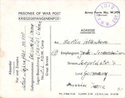 Kriegsgefangenenpost Aus England - 1939-45