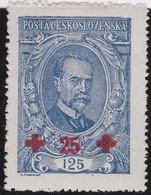 Tsjechoslowakije    .       Yvert  184     .      *       .        Ongebruikt Met Plakker  .   /   .   Mint Hinged - Tsjechoslowakije