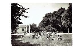 Cpsm - 39 - Saint AMOUR - VACANCES HORIZON - Colonie Enfants Jeux Ronde Balançoire - France