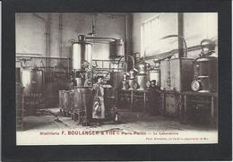 CPA Absinthe Alcool Drogue Distillerie Boulanger Paris Pantin Non Circulé - Industry