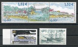 RC 10738 SAINT PIERRE ET MIQUELON SPM 2001 NEUFS ** - Unused Stamps