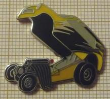 AUSTIN MINI DRAGSTER En Version ZAMAC - Pin's