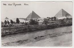 The Three Pyramids Cairo - Pyramids