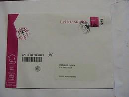 2720 Lettre Suivie 50g - France
