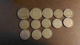 Lot De 13 Pièces 20  50 Et 100 Francs Turin Algérie 1949 1950 1952 - Algérie