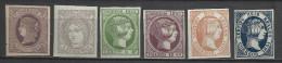 1945-LOTE SELLOS CLASICOS ESPAÑA FALSOS SEGUI.SPAIN CLASSIC STAMPS LOT SEGUI FALSE. SPANIEN CLASSIC STEMPEL LOT SEGUI FA - Unused Stamps