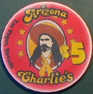 $5 Casino Chip. Arizona Charlie's, Las Vegas, NV. N02. - Casino