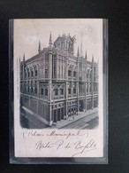 Montevideo - Palais Municipal 1902 - Uruguay