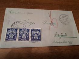 Old Letter - Yugoslavia, Porto - Jugoslawien