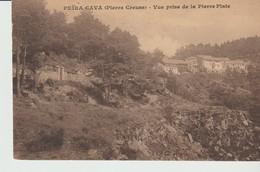 C.P. A. - PEIRA CAVA - VUE PRISE DE LA PIERRE PLATE - France