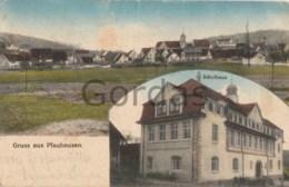 Germany - Gruss Aus Pfauhausen - Wernau - Neckar - Schulhaus - Eislingen