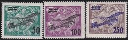 Tsjechoslowakije    .  Yvert  Airmail  7/9    .      *   .    Ongebruikt Met Plakker  .   /   .   Mint Hinged - Luchtpost