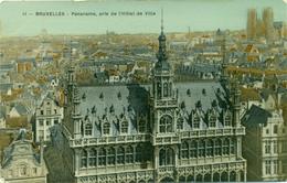 Brussel - Bruxelles : Panorama Pris De L'Hôtel De Ville : 1910 - Panoramische Zichten, Meerdere Zichten