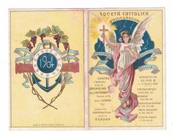 CALENDARIETTO  SOCIETA' CATTOLICA D'ASSICURAZIONI 1904  SEMESTRINO - Calendari