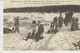 C.P. A. - SPORTS D'HIVER A PEIRA CAVA - ENVIRONS DE NICE - D. R. - CARTES D'AUTREFOIS - REPRODUCTION - LUGES - Frankreich