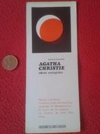 SPAIN MARCAPÁGINAS BOOK MARK Bookmark Agatha Christie Obras ESCOGIDAS COLECCIÓN EL LINCE AGUILAR VER FOTO. ESCRITORA VER - Marcapáginas