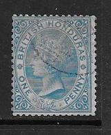 Honduras Britannique  YT 1 Oblitéré. - British Honduras (...-1970)
