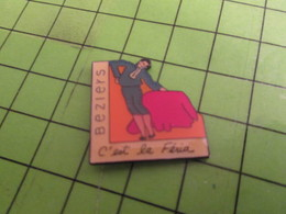 1015c Pins Pin's / Rare & Belle Qualité THEME SPORTS / BEZIERS FERIA TAUROMACHIE CORRIDA - Corrida