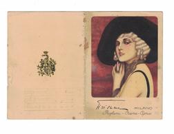 CALENDARIETTO  GI VI EMME  MILANO PROFUMI CREME CIPRIE 1929  SEMESTRINO - Calendari