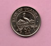 UGANDA - 50 Cents 1976 ***Alto Valor Catalogo - Ouganda