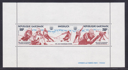 GABON BLOC N°   25 ** MNH Neuf Sans Charnière, TB (CLR377) Jeux Olypiques Innsbruck - 1976 - Gabon