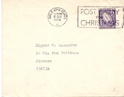 POST EARLY FOR CHRISTMAS  BAILE ATHA 1956 (DICE180128) - 1949-... Repubblica D'Irlanda