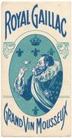 Carte Parfumée - Royal Gaillac - Grand Vin Mousseux - Anciennes (jusque 1960)