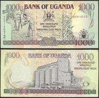 UGANDA - 1000 Shillings 1996 P# 36b Africa Banknote - Edelweiss Coins - Uganda