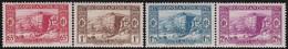 Algérie     .  Yvert   131/134   .      *   .  Neuf Avec Charniere  .   /   .   Mint Hinged - Algeria (1924-1962)