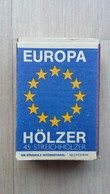 Zündholzschachtel Der Marke EUROPA-Hölzer (Deutschland) - Zündholzschachteln