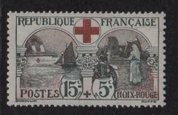N°156 - 15c+5c Infirmiere Croix Rouge - ** Neuf Sans Charniere - Cote 300€ - France