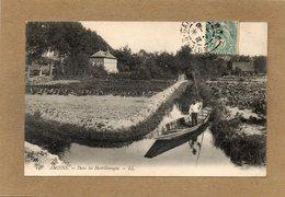 CPA -AMIENS (80) -Thème : Hortillonage - Méthode De Déplacement Du Maraicher Allant à Sa Parcelle D'horticulture En 1907 - Amiens