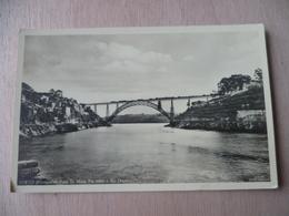 PORTO  PONT  PONTE D MARIA PIA SOBER - Porto