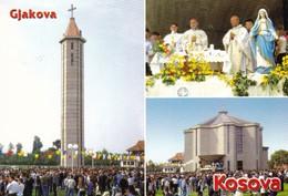 PK  Kosovo  : Gjakova ( 2 Stuks ) Respectivelijk Met Postzegel  4 / 2 X Nr 3 - Kosovo