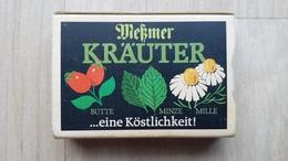 Zündholzschachtel Mit Darstellung Von Pflanzenteilen (Tee-Werbung Aus Deutschland) - Zündholzschachteln