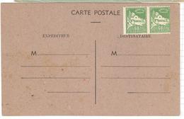11474 - Variété Piqage Décallé - Algeria (1924-1962)