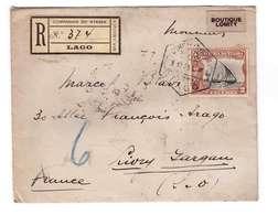 Companhia Do Nyassa Mocambique Mozambique Lettre Recommandée Pli Recommandé 9.12.1925 Pour Livry Gargan France Cachet - Nyassa