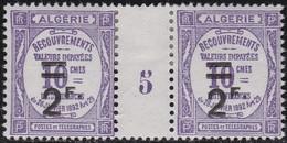 Algérie     .  Yvert   Taxe  24  Paire      .      *   .    Neuf Avec Charniere  .   /   .   Mint Hinged - Algérie (1924-1962)