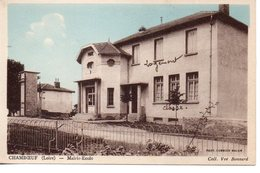 Loire : Chamboeuf : Mairie-école - Frankrijk