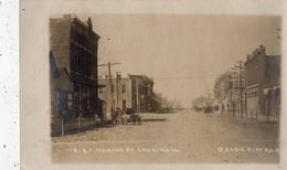 MARKET ST. LOOKING W ,  OSAGE CITY (CARTE PHOTO ) - Etats-Unis