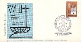 ARGENTINA CONGRES INTERNATIONAL DEL  CICIAMS  SAN GABRIRL 1962  (DICE180133) - FDC