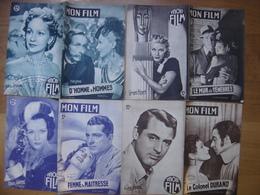LOT De 4 MON FILM 1949 Numeros 143,144,145,146 CINEMA MOVIE - Livres, BD, Revues