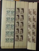 France 1945 - 4 Grandes Bandes - Tous ** - MNH  - 2 Scans - Timbres
