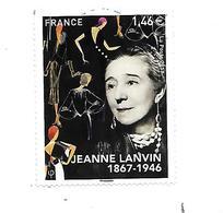 Personnalité Jeanne Lanvin 5170 Oblitéré 2017 - France