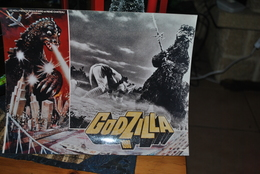 Rare Affichette Film Godzilla1980 Format 21x30 Cm - Affiches & Posters