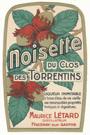 Etiquette - Liqueur De Noisette Létard - Fresnay Sur Sarthe - Etiquetas