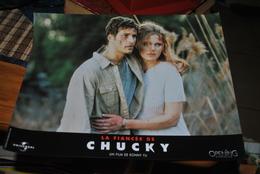Rare Affichette Film La Fiancée De Chucky  Format 21x30 Cm - Affiches & Posters