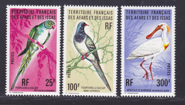 AFARS ET ISSAS N°  428 à 430 ** MNH Neufs Sans Charnière, TB (D7897) Oiseaux, Perruche, Tourterelle, Spatule - 1976 - Afars Et Issas (1967-1977)